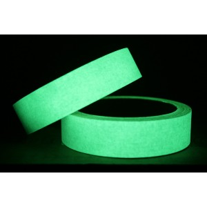 Antislip tape Glow in the Dark - 25 mm