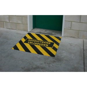 Antislip nooduitgang-markering 1.00 x 1.00 meter