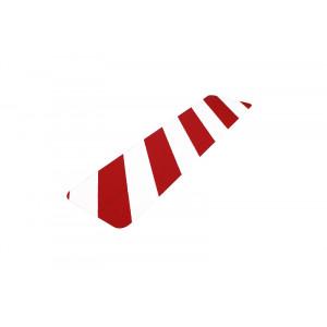 Anti slip traptrede fijne korrel schuin gestreept 150x610 mm